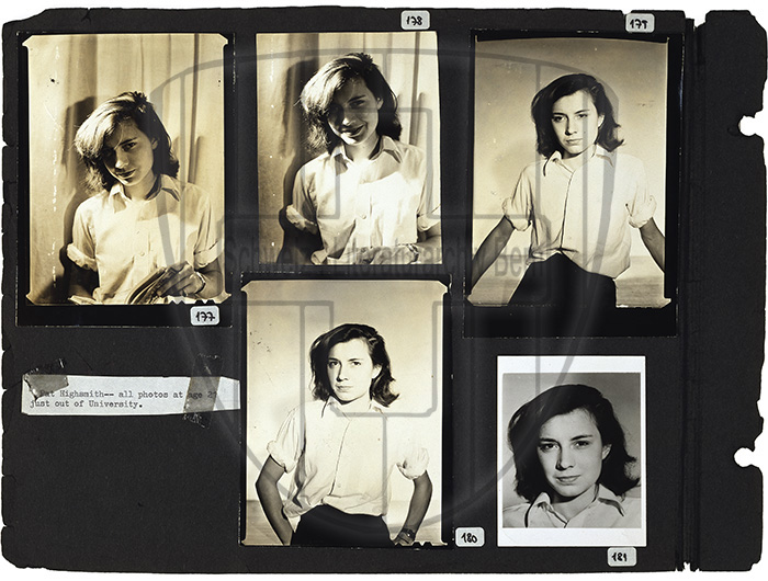 Rolf Tietgens, Patricia Highsmith collection, 1942